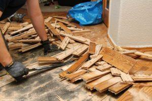 hardwood demo